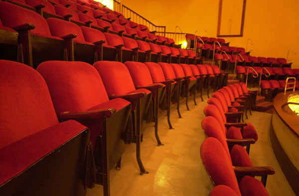 Vacant Seats in Sheldon Theatre